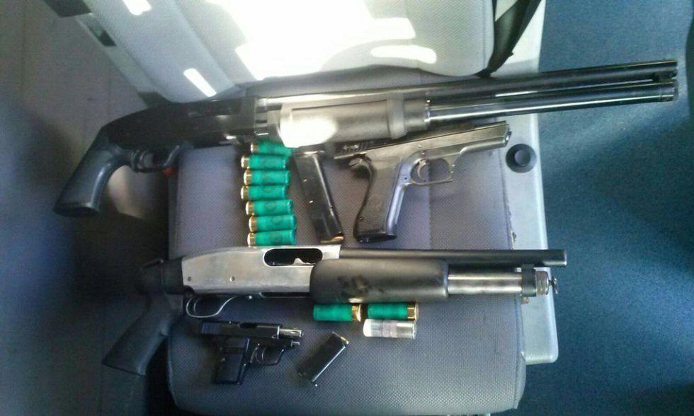 La Policía intercepta un coche con armas en La Jonquera