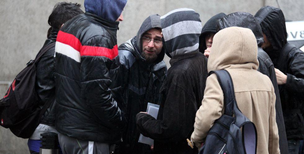 Raúl García Pérez, de 34 años, uno de los dos titiriteros encarcelados