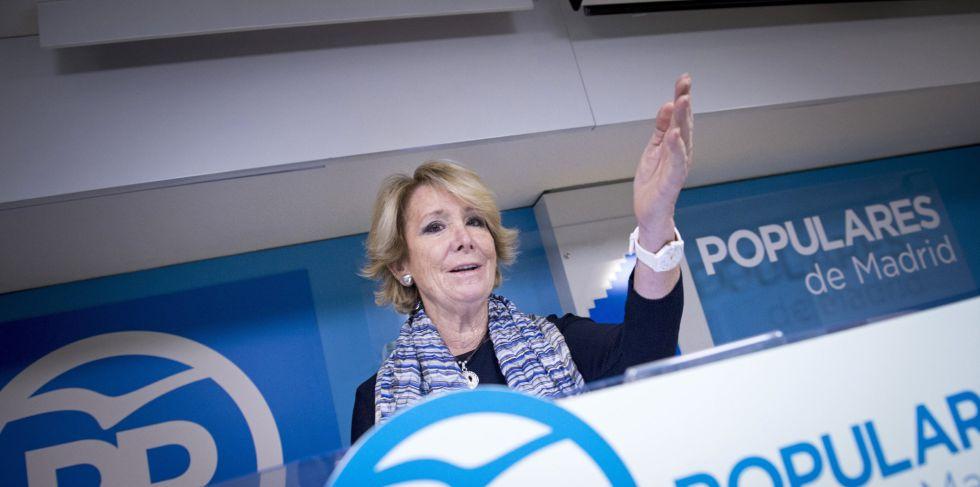 Aguirre durante la rueda de prensa de este domingo.