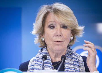 La peineta de Aguirre a Rajoy