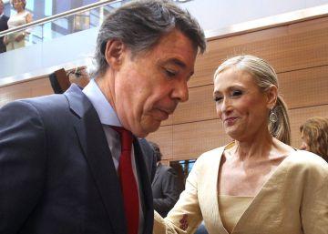 La dimisión de Aguirre deja libre el camino a Cifuentes en Madrid