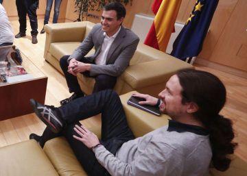 Sánchez solo dialogará con Iglesias si relega en su plan la autodeterminación