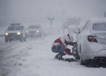 Alerta en 30 provincias por nieve, viento, oleaje y bajas temperaturas