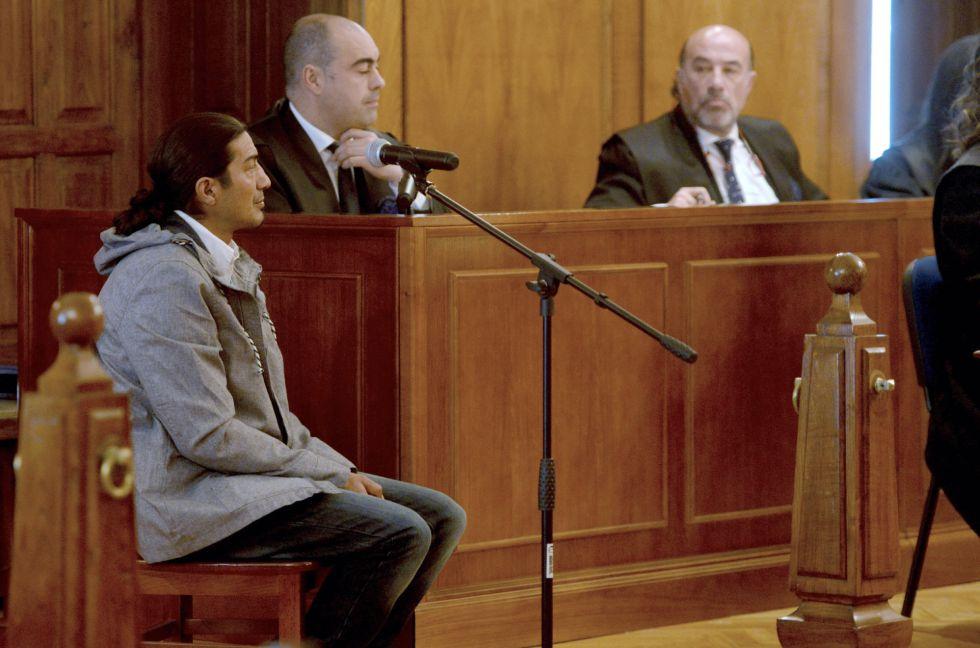 José Luis Cortiñas durante el juicio este martes.