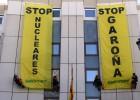 Detenidos seis ecologistas tras una protesta contra la central de Garoña
