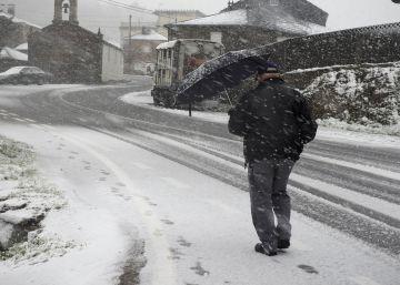 Alerta en 35 provincias por riesgo de heladas, nieve y oleaje por el temporal