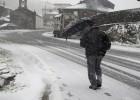 Alerta en 35 provincias por riesgo de heladas, nieve y oleaje
