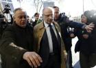 Rato abandona los juzgados tras siete horas de declaración