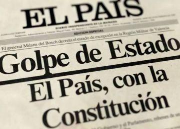 El 23-F, en directo (35 años después) #ELPAÍS23F
