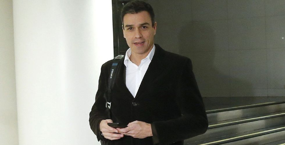 Socialist Party leader Pedro Sánchez.