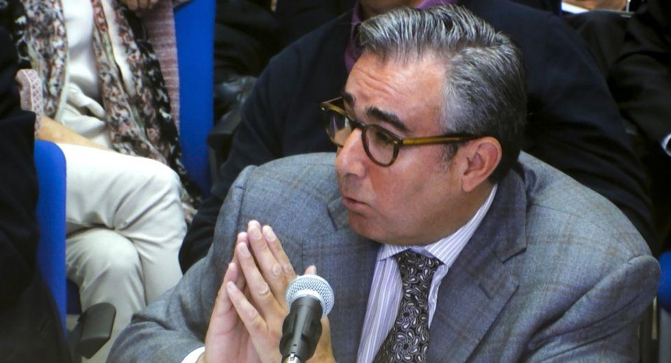 Diego Torres durante el juicio por el 'caso Nóos', este martes.