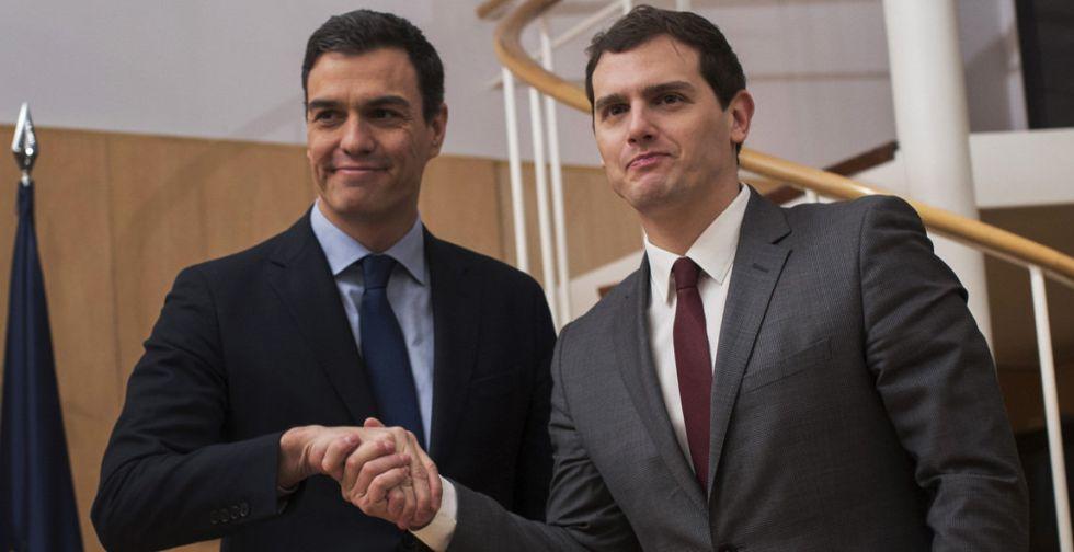 Acuerdo PSOE Ciudadanos