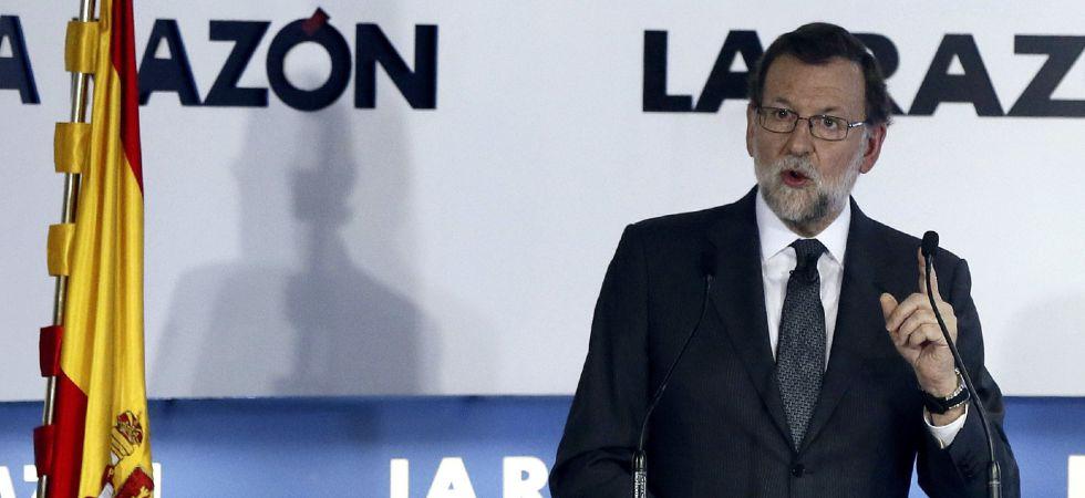 El presidente del Gobierno en funciones, Mariano Rajoy, este jueves.