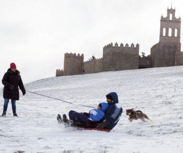 Alerta en 25 provincias por el temporal de frío, nieve y viento