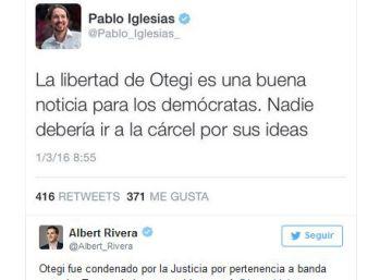 Arnaldo Otegi y su transición de la vía terrorista a la pacífica