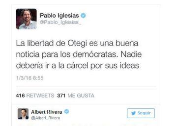 Arnaldo Otegi sale de la cárcel de Logroño tras seis años y medio preso