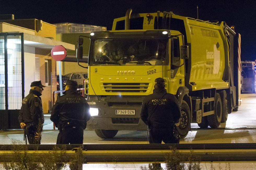 Huelga de basuras en Málaga