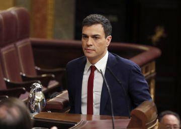 La gran tarde del candidato Sánchez