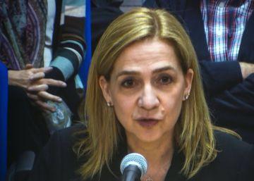 Las frases de la infanta Cristina ante el tribunal del 'caso Nóos'