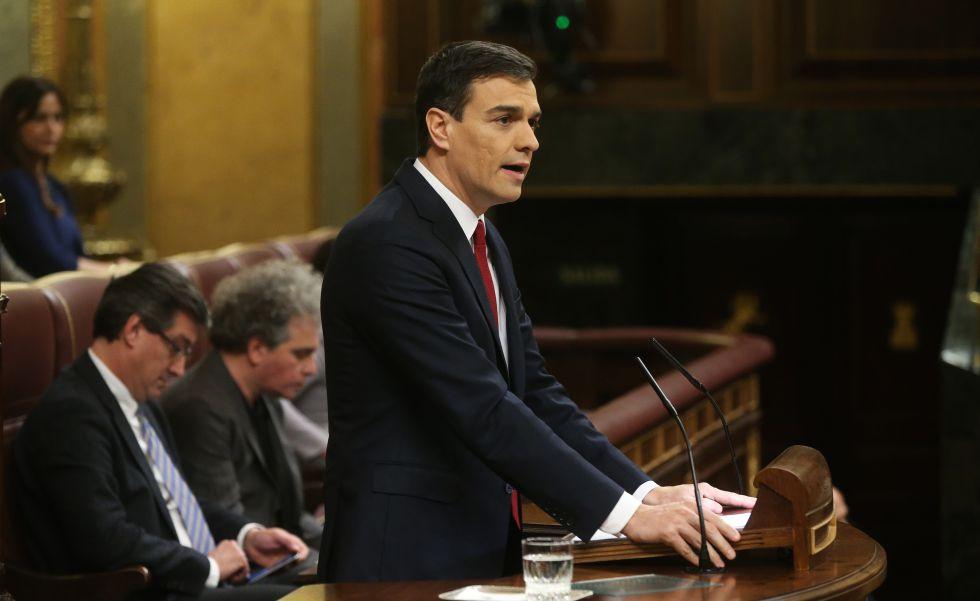 El secretario general del PSOE, Pedro Sánchez, este viernes.