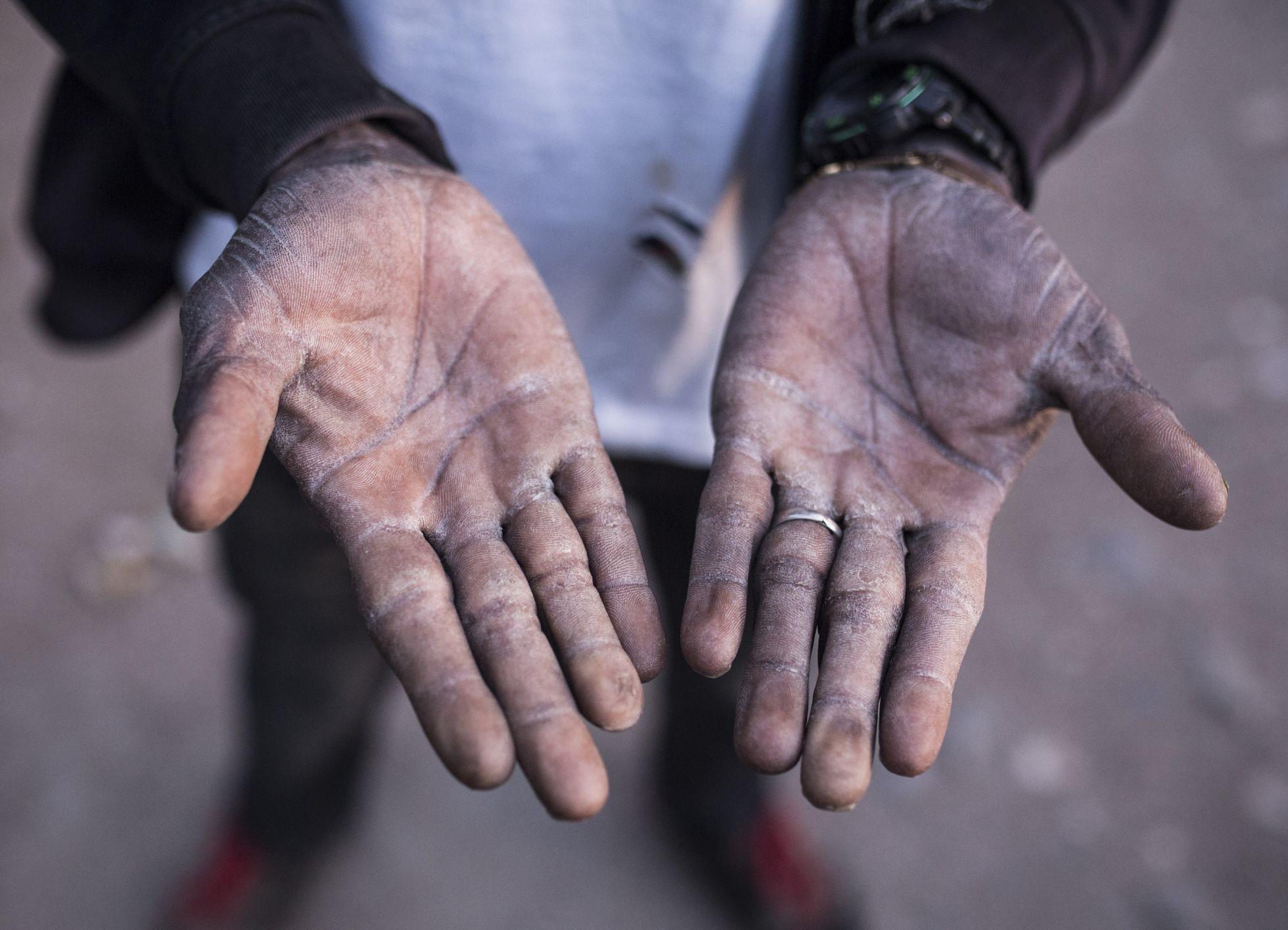 Situación de proletarios migrantes en invernaderos de Almeria [España]. 1457431108_328284_1457434263_sumario_normal_recorte1