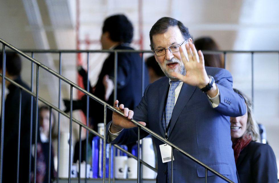 Mariano Rajoy, en el Campus Google, este martes.