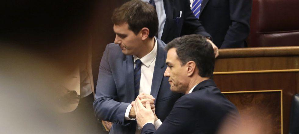 Pacto PSOE Ciudadanos