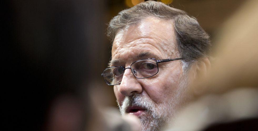 Rajoy a la salida de la cumbre europea del pasado 8 de marzo.