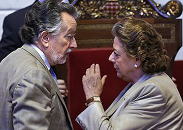 """Una exedil: """"El PP valenciano tiene mucho dinero negro de corrupciones"""""""