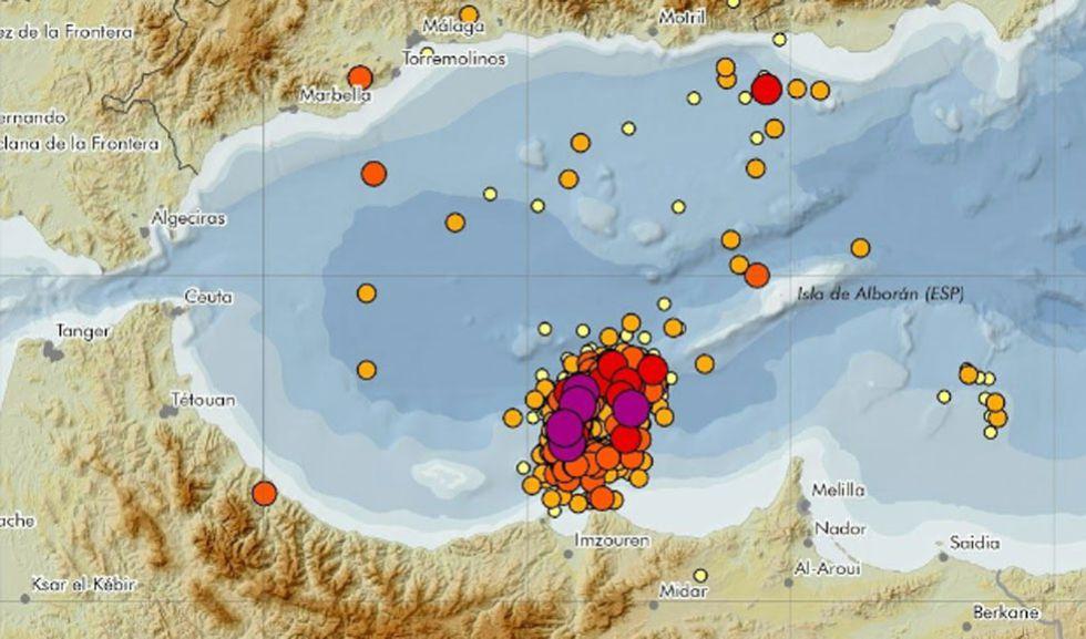 Terremoto en Malaga