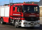 Dos octogenarios mueren en el incendio de su casa en Segovia