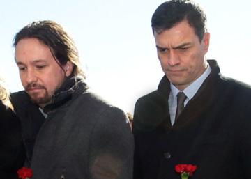 El golpe de mando de Iglesias refuerza a los contrarios al pacto con el PSOE