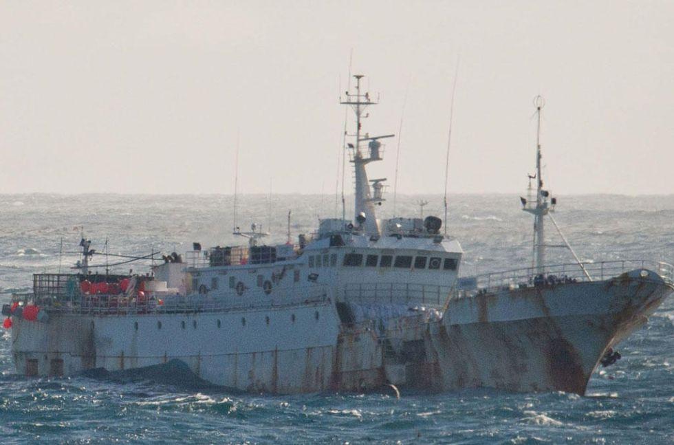 Pesquero Yongding, uno de los buques del armador Vidal.