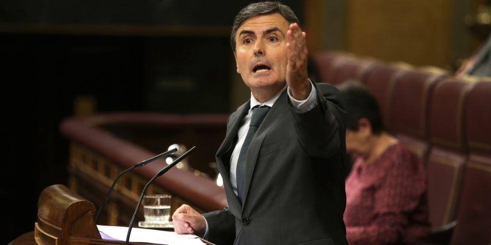 Pedro Saura, en el Congreso el pasado abril.