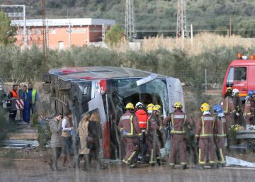 Directo | Todas las víctimas mortales del accidente de autobús son mujeres