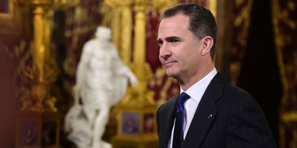 El rey Felipe VI, el pasado 17 de marzo, en la Zarzuela.