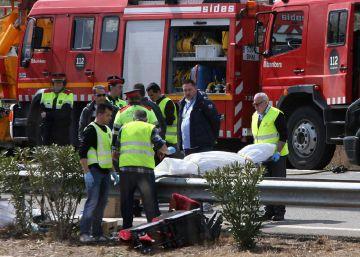 Fallecen 13 estudiantes extranjeras al volcar un autobús en Tarragona