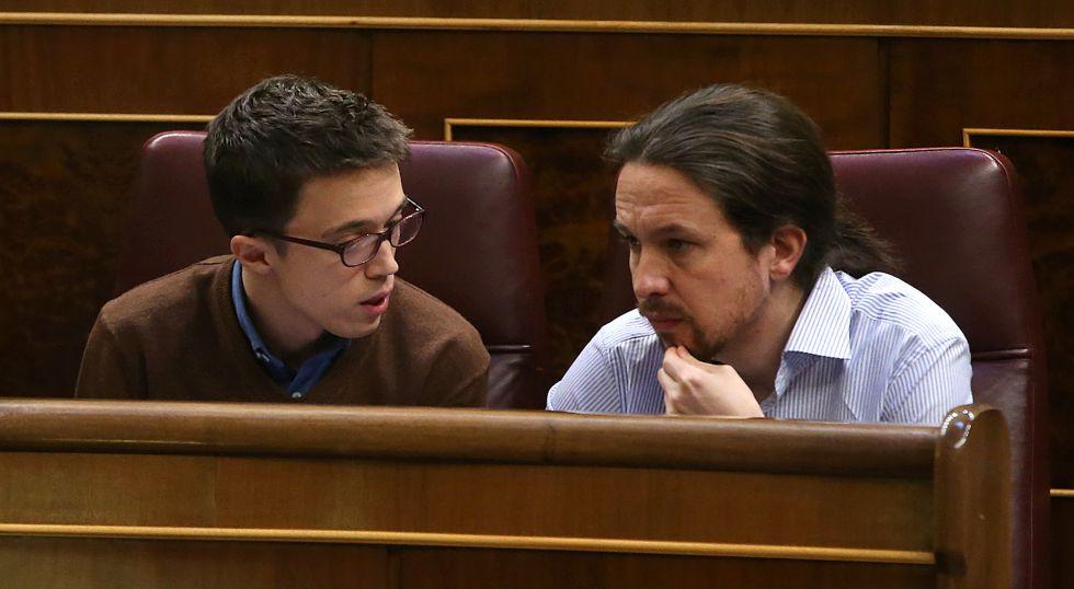 Íñigo Errejón y Pablo Iglesias el pasado 15 de marzo.