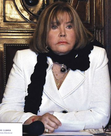 La juez argentina María Servini de Cubría