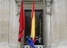 El Parlamento navarro volverá a izar la bandera europea tras los atentados de Bruselas