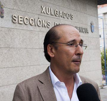 El fiscal antidroga de Pontevedra, Luis Uriarte.