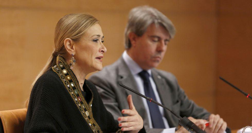 Cristina Cifuentes y Ángel Garrido el pasado 18 de marzo.