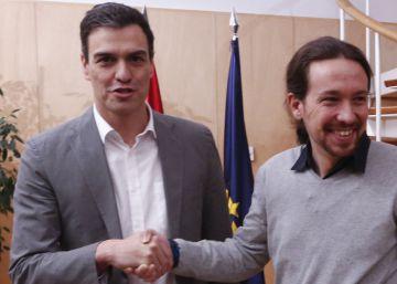 Podemos presiona a Sánchez con el conflicto interno del PSOE