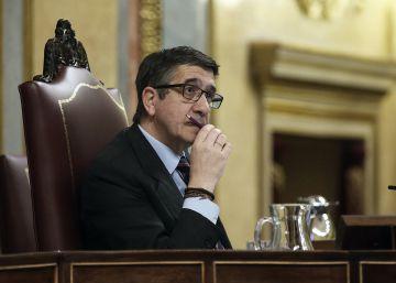 """Patxi López advierte de """"un conflicto institucional grave"""" con el Gobierno"""