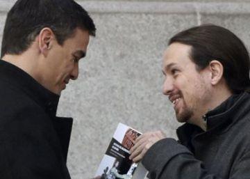 Sánchez e Iglesias se reúnen por segunda vez para buscar un acuerdo de Gobierno