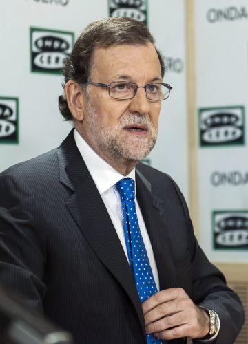 Mariano Rajoy, este martes.