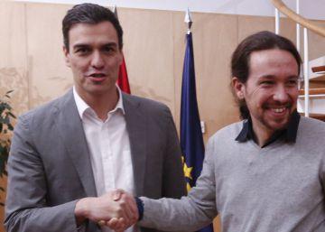 Sánchez, abierto a un Gobierno con Podemos y Ciudadanos