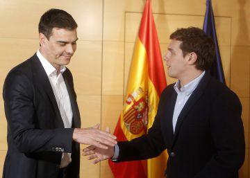 Ciudadanos advierte a Sánchez contra todo pacto con Iglesias