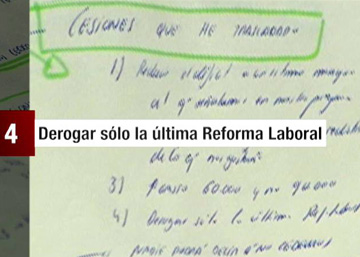 """Las cuatro """"cesiones"""" de Pablo Iglesias a Pedro Sánchez"""