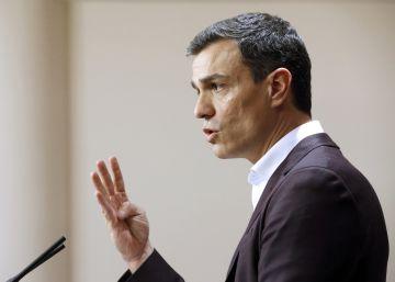 Sánchez insiste en que el acuerdo de gobierno incluya a Ciudadanos y a Podemos